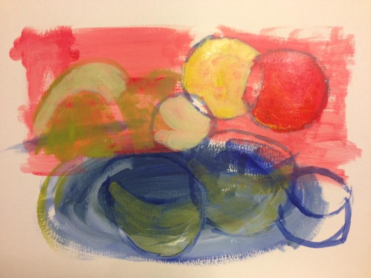 Color Calisthenics no. 1